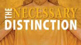 A review of a Necessary Distinction Preface